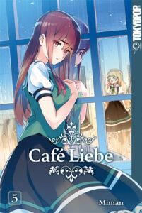 Buchumschlag Café Liebe 5 Mitsuki und Hime sind zu sehen