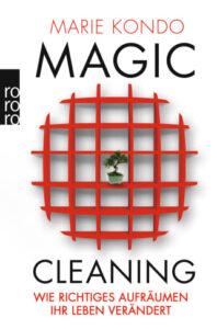 Buchumschlag von Magic Cleaning von Marie Kondo