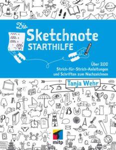 """Buchumschlag """"Die Sketchnote Starthilfe"""""""