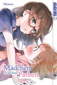 Buchumschlag zum Yuri Manga Mädchen in all ihren Farben