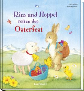 Buchumschlag von Rica und Hoppel retten das Osterfest