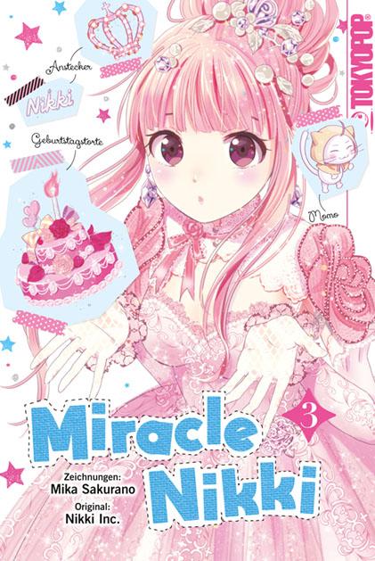 Buchumschlag zum Shōjo Manga Miracle Nikki #3